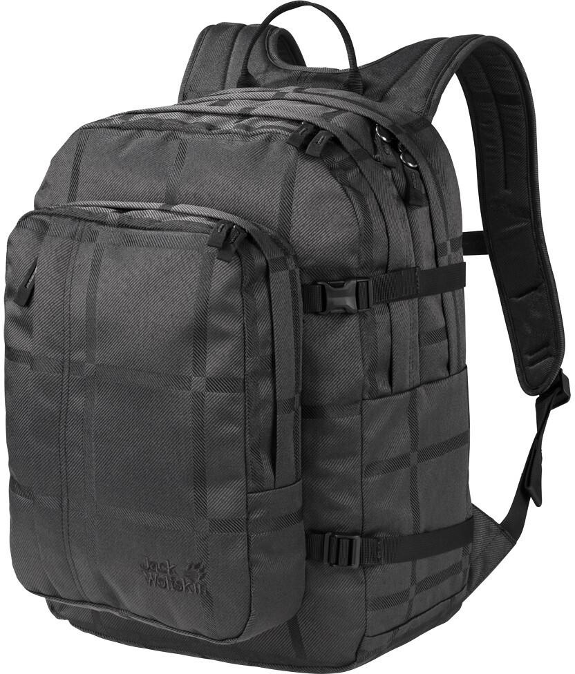 b5cf7448b034a Jack Wolfskin Berkeley Y.D. Backpack black big check